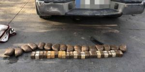 Van Edremit'te araç lastiğine zulalanmış eroin ele geçirildi