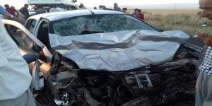 Çınar eski Derik yolu üzerinde kaza: 2 ölü 4 yaralı