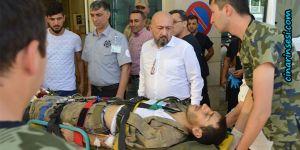 Siirt Pervari'de el yapımı patlayıcı infilak etti: 1 yaralı