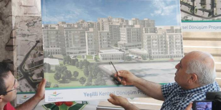 Mardin Yeşilli'de kentsel dönüşüm başlıyor