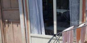 Sınırdaki kontrollü patlama Gaziantep Karkamış'taki evlere zarar verdi