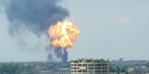 İtalya'da kaza sonrası büyük patlama: 2 ölü 70 yaralı