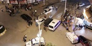Mardin Kızıltepe'de dur ihtarına uymayan otomobilden silah çıktı