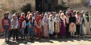 Gaziantep'te Kur'an kursu öğrencileri gezi ile ödüllendirildi