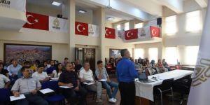 Mardin Artuklu'da hizmet içi eğitim semineri