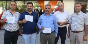 Diyarbakır'da  iş adamları döviz bozarak ekonomiye destek verdi