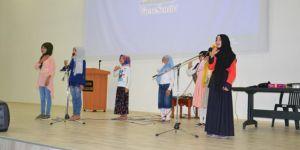 Siverek'te Kur'an kursu öğrencilere yıl sonu etkinliği