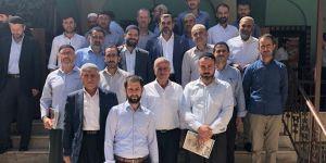 Diyarbakır Bismi'de müftülük personeli kurban bağışında bulundu