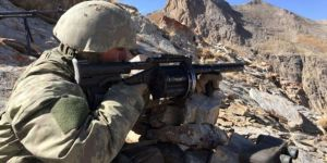 Siirt Pervari'de 4 PKK'li öldürüldü