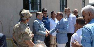 Elazığ'daki kazada hayatını kaybedenler için Bitlis Güroymak'ta taziye kuruldu