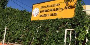 Şanlıurfa Siverek'te hırsızlar okula dadandı