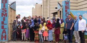 Türkiye'den Afrika'ya yetim eğitim kompleksi