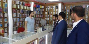 HÜDA PAR'dan Eskişehir esnafına ziyaret