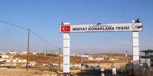 Mardin Midyat'taki sığınmacı kampı boşaltılıyor