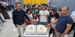 Mardin'de yaz okullarına kapanış programı