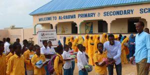 Avrupa Yetim-Der'den Afrikalı yetim öğrencilere destek