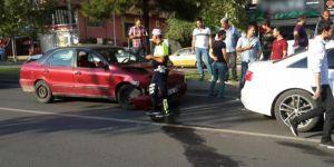 Diyarbakır Diclekent'te bir anlık dalgınlık kazaya sebep oldu