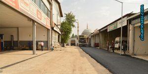Diyarbakır 1. sanayi sitesinin yolları asfaltlanıyor