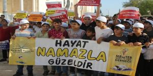 Adana'da Gözümün Nuru Namaz etkinliği düzenlendi