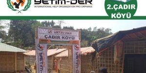 Avrupa Yetim-Der'den Arakanlı mülteciler için yeni proje