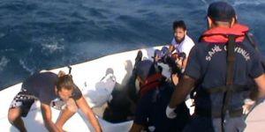 Muğla'da göçmen teknesi battı: 1 ölü 16 kişi sağ kurtarıldı