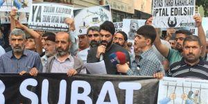 28 Şubat ve FETÖ yargısı mağdurları 'artık yeter, artık adalet' diyor