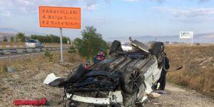 Çankırı'da kaza: Bir ölü bir yaralı