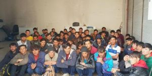 Van'da 57 göçmen yakalandı