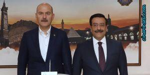 İçişleri Bakanı Süleyman Soylu'dan Büyükşehir'e ziyaret