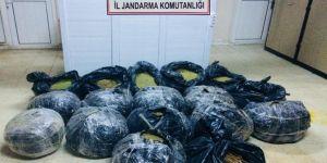 Diyarbakır'da Hani-Lice Karayolunda 165 kilo esrar ele geçirildi