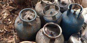 Bitlis Hizan'da EYP'de kullanılacak malzemeler ele geçirildi