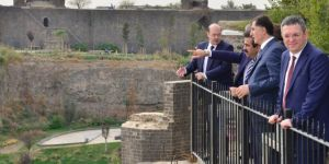 Kamu Başdenetçisi Şeref Malkoç Diyarbakır'da