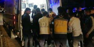 Çınar'da motosiklet, açılan araç kapısına çarptı: 2 yaralı