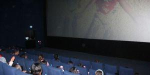 Öğrenciler ilk kez sinema ile buluştu