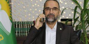 HÜDA PAR Genel Başkanı Sağlam'dan Yekgirtû Genel Başkanına taziye telefonu
