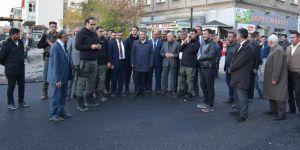 Ağrı'da Hani Baba Caddesi'ni Erzurum Bulvarı'na bağlayan yol açıldı