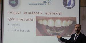 Türkiye'de ilk kez görünmez diş teli Van Yüzüncü Yıl Üniversitesinde üretildi