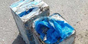 Batman Kozluk'ta  yere gizlenen 40 kilogramlık EYP ele geçirildi