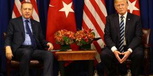 Erdoğan, Trump'la Münbiç ve İdlib'i görüştü