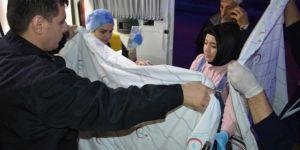 Siirt Kurtalan'da gazdan etkilenen 50 öğrenci hastaneye kaldırıldı