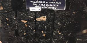 Van'da gümrük kaçağı sigara ve ilaç ele geçirildi