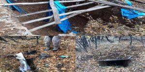 Diyarbakır'da PKK'ye ait sığınak, mevzi, mağara ve patlayıcılar imha edildi