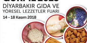 Diyarbakır Gıda ve Yöresel Lezzetler Fuarı açılacak