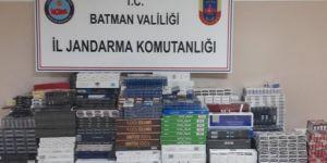 Batman'da gümrük kaçağı sigara ele geçirildi