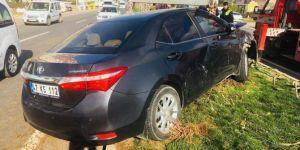 Kızıltepe İlçe Müftüsü Masum Taşçı kazadan yara almadan kurtuldu