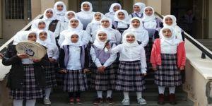 Çınar İmam hatip ortaokulu öğrencileri Mevlid-i Nebi etkinliği düzenledi