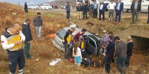 Batman-Gercüş Karayolu'nda kaza: 2 yaralı