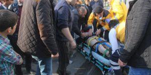 Mardin'in Midyat ilçesinde kaza: 2 yaralı