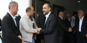 HÜDA PAR Genel Başkanı Sağlam Yusufîlere taziyede bulundu