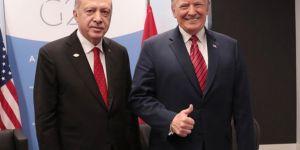 Cumhurbaşkanı Erdoğan Trump ile bir araya geldi